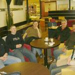 Hans, Dominik, Christian, Karl, Klaus und Christiane