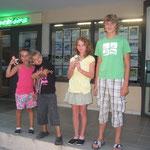 Fabian, Viviane, Jana und Jan