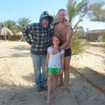 Karl-Heinz, Eric und Jana
