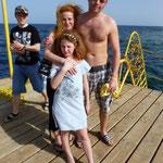 Olli, Andrea und Vivienne