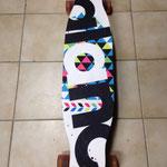 Kiteboard = Longboard 100cm