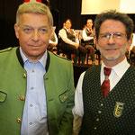 Komponist Franz Meierhofer mit Kpm. Peter Forcher