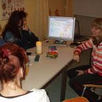 Gruppenunterricht 2006 noch im alten Raum
