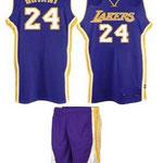 Uniforme Lakers Azul