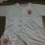 Uniforme Inglaterra Euro 12