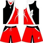 Uniforme Trinidad Negro Rojo