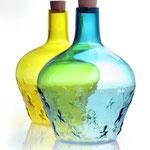 Carafe «Spiriti» / Laurent Cario / verre soufflé à la canne