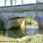 Pont de la Nation sur la Soulles entre Montpinchon et Ouville Manche