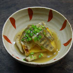 ウコン豆腐アマゴあんかけ