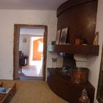 Salon cheminée (Lozère)