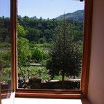 Fenêtre chambre 1er côté jardin