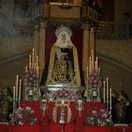 Nuestra Señora de la Soledad. Fotos: Manuel Garrido.