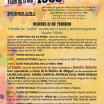 Programación Viernes. Feria1900 Moguer