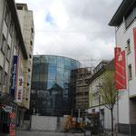 Mall-Ansichten mit Baustelle von der Fackelstraße aus ...
