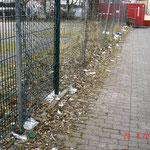 Hinter der ehem. Lieferantenzufahrt zum Karstadt-Gebäude