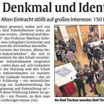 Die Rheinpfalz vom 22. Jan. 2016: Bericht über die Pfaff.Werk.Stadt