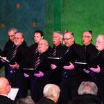 """Die Tenöre des Männerchores """"Hobby-Singers"""""""