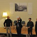 Die fünf Vertreter der Initiativen-Vereine stellen sich und ihre Intentionen vor.