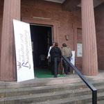 Am Eingang begrüßte Karin Kolb die Besucher persönlich.