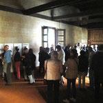 Die Friedenskapelle ist gut besucht - ca. 100 Personen!