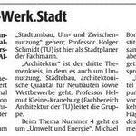 Die Rheinpfalz vom 20. Jan. 2016: Die Veranstaltung wird angekündigt.