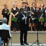 Christoph Schuster an der Violine