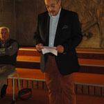 Klaus-Michael Wilhelm fasst abschließend nochmals die Positionen des Vereins zusammen.