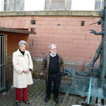 Karin Kolb und Prof. Gunther Stilling