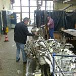 Reparatur in der Werkstatt