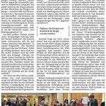 Die Rheinpfalz vom 26. Jan. 2016: Inhaltliche Ergebnisse