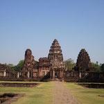 Phimai (Thai: พิมาย), historische Khmer Stadt im Nordosten Thailands (Isaan)