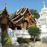 Wunderschöner Teak Tempel in Chiang Mai (Wat Ram Poeng)