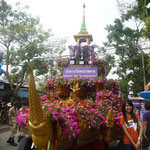 Blumenfestival Chiang Mai im Februar