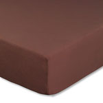 Topperbezug, Farbe schokobraun, Größe 180-200 x 200 cm