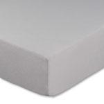 Topperbezug, Farbe silber, Größe 180-200 x 200 cm
