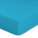 Topperbezug, Farbe türkis, Größe 180-200 x 200 cm