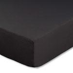 Topperbezug, Farbe schwarz, Größe 180-200 x 200 cm