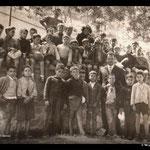Il prof. Geraci e i suoi alunni
