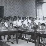 anni '60 Un consiglio comunale. Consiglieri da sx Fino, Benvenuto, Scarcella, Bruno, Selmi, Cofone.
