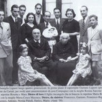 Anni '50 La famiglia Liguori