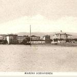 Marina di Schiavonea anni '40