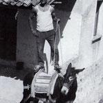 """1956 Ciccio Piranio e il suo """"ciuccio"""""""