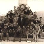 1956-Prof. G.Franzè-A.Sanseverino,A.Amica,N.Tiano,V.Pisani,?,P.Coviello,G.Cassano,P.Martire,P.Gigliotti,G.Meligeni,A.Cumino,F.Montillo,V.Ferri,L.Luzzi,F.Albamonte,G.Chiaro,P.Guidi,Paura,Rizzo,De Rosis,Gioise,Amato,Chiaradia,Valente,Rubino,Madeo,Candreva