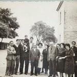 1958 - 1 fila, da sin. prof.S.Bruno;P. e F.Donadio;T.Felicetti(A.Liguori);prof.B.Arena;M.Cuiuli;prof.M.Avolio;pres.G.De Santis;A. e V.Graziani;M.C.Cucumile-2 fila da sin. P. Taverise;F.Oriolo;S.Laudonia;U.Adimari e F. Caravetta