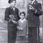 1949 il capo-banda Bandiera con Rocco e Giovanni Tortorella