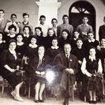 Inizi anni '50 - Tra gli altri: V.Gallerano;F. Cuiulli;G.Tebano;G.Salcina;G.Miele;V.Graziani;S.La Grotta; M.F.Cuiulli;G.Casciaro;Avolio(segretario) (foto R.Graziani)
