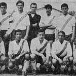1964 Polisportiva Corigliano : in alto da sx Minisci, Salimbeni, Romanelli, Caruso, Granato, Mezzotero, Mastrangelo, in basso da sx Amato, Andreassi, De Rose, Scarfò,Baffa