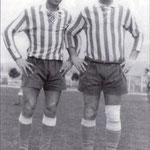 1964 a sx Leonardo Varquez e Maurizio Branca