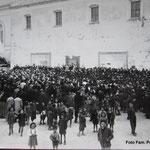 1946 comizi per le elezioni di Carratelli e Quintieri in P.zza San Francesco