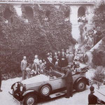 1932 a Maggio L'arrivo del Principe , Umberto, a Favella